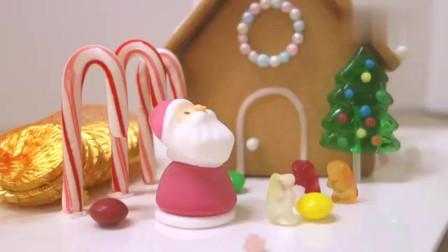 手工制作的可爱圣诞姜饼屋,这么漂亮真心舍不得吃啊
