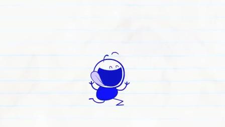 搞笑铅笔动画,得意忘形的铅笔人一头扎进地下,发生了奇怪的变化