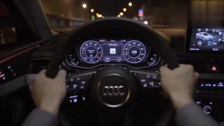 2019款奥迪A4新功能演示,看完后才知道德国技术有多先进!