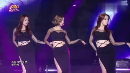 韩国美女组合GirlsDay+*oysDay-Something现场热舞