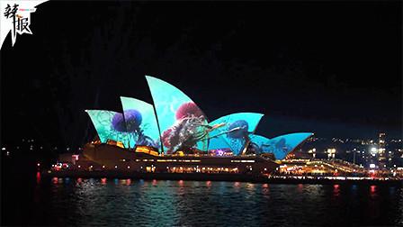 创意灯光秀点亮夜悉尼