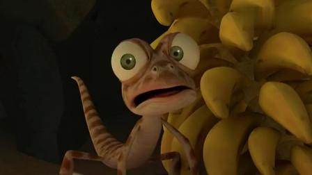小蜥蜴奥斯卡:狐狸和同伴掉进陷阱里,急坏了