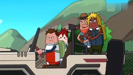 搞笑吃鸡动画:队友好心维护瓦特爱心司机名声,却弄巧成拙成了夺命黑车