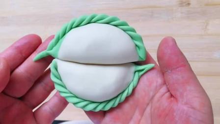 锁边饺子手法教程视频,这样包个个好看的