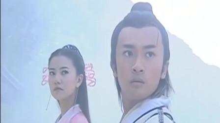张无忌与周芷若,正准备挑战少林三高手时,这位不速之客突然到来