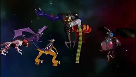 爆丸小子:六神兽大战最终BOSS!这场战斗实在是太精彩了!