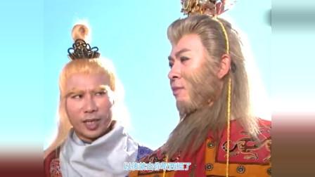 云海翻腾孙悟空  :孙悟空被困请了诸天神佛,通背猿猴却说,佛祖来了也没用!