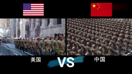 当中国阅兵遇到美国阅兵,这才是霸气的真正开始