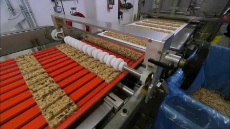 燕麦加巧克力做的饼干,在工厂里原来是这样生产的!