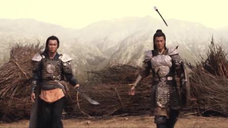 忠烈杨家将:超燃兄弟二人组四郎五郎断后,四郎五郎战