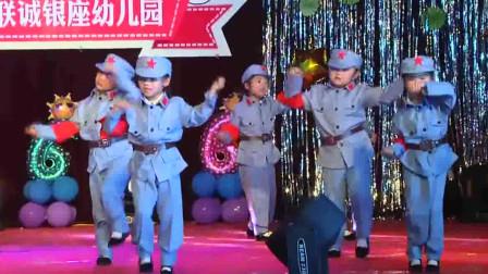 幼儿园六一儿童节文艺汇演舞蹈《红色娘子军》