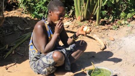 非洲最原始的部落,6岁小孩都能轻松找到肉吃,为啥还要种地?