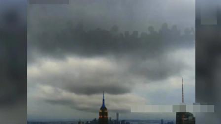 灵异事件:纽约上空诡异画面!难道真的有神仙?