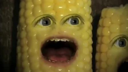 笑一笑 玉米眼馋吃爆米花,秒变疯子