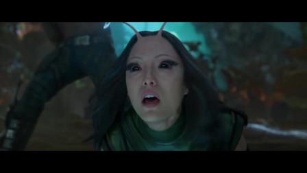 银河护卫队:螳螂女这大招很炫酷,真是深藏不露