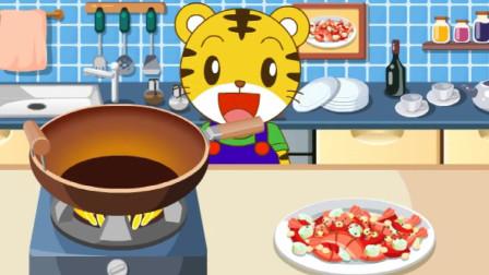 巧虎育儿视频046期:巧虎的麻辣小龙虾,真好吃!