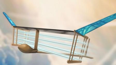 奇葩老外造出新型飞机,没有引擎也能飞,外形有点搞笑!