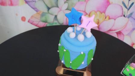 超级简单的粘土蛋糕,3分钟教你学会制作,创意手工,六一必备