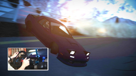 Mazda马自达 RX-7 FC高速极限巅峰漂移阿尔卑斯山 神力科莎实况录像 - Assetto Corsa G29 900°