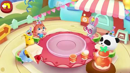 宝宝巴士奇奇变身烘培师,给妈妈做一个漂亮的蛋糕吧