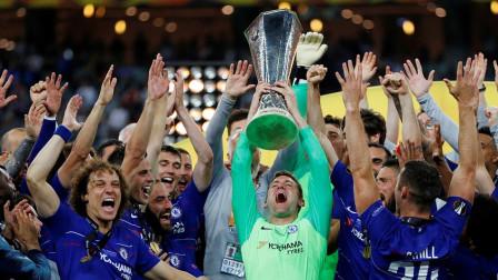 欧联杯-阿扎尔2球 吉鲁传射建功夺金靴,切尔西4-1大胜阿森纳夺冠