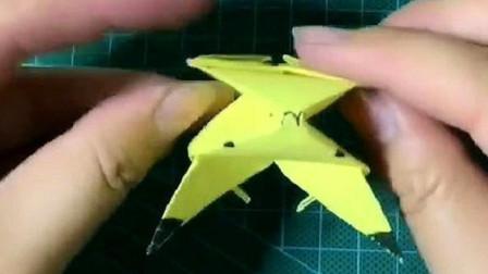 手工折纸:教你如何制作可爱的皮卡丘,而且还特别的漂亮!