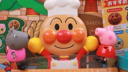 趣盒子玩具 第一季 面包超人的面点烘培坊跟我一起做面包披萨吧