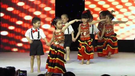 幼儿园六一儿童节舞蹈表演《西班牙斗牛士》