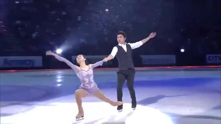 花滑场上,最美中国红李子君,这场表演太惊艳了