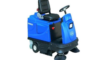 小体积大作用 迷你版清扫车 扫地机 清扫车效率高的出奇!
