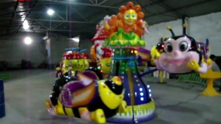 儿童游乐设施,4座小蜜蜂,庙会游乐设备