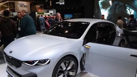 起亚又一匹黑马亮相、新车NOVO外观比奥迪A7还帅、配对开无框车门