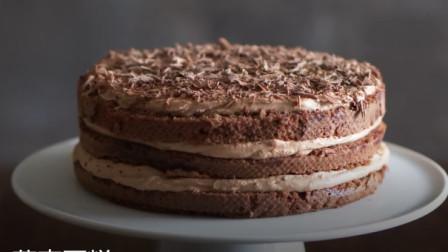 教你制作香浓巧克力荞麦蛋糕,比蛋糕店的好吃多了,做法超级简单