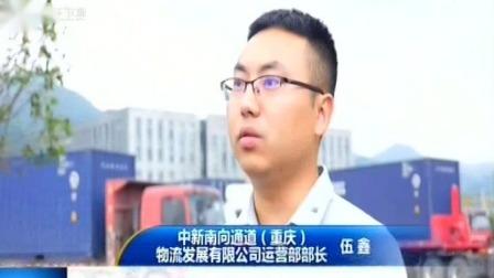 """重庆新闻联播 2019 """"陆海新通道""""与日俱增 目的地遍及全球180个港口"""