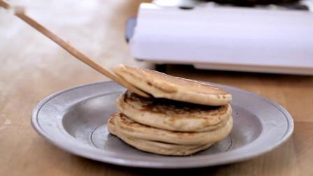 在家自制全麦松饼粉,从此高颜值松饼pancake不是梦