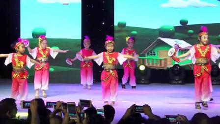 幼儿园六一儿童节舞蹈文艺晚会《快乐的小铃鼓》