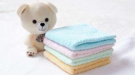 毛巾清洗不到位,比抹布还脏!教你一个实用小妙招