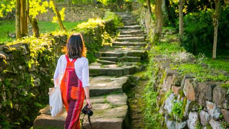 航拍《世界遗产名录》中的唐崖土司城遗址
