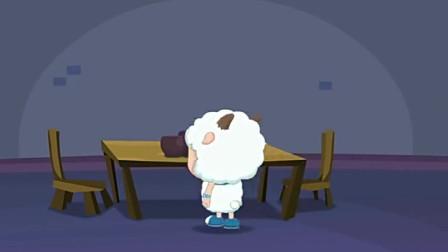 喜羊羊在灰太狼家里查了制作冰淇淋的原材料都没有问题