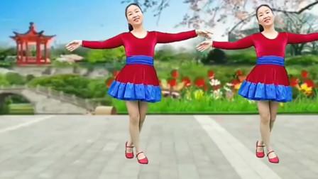 经典歌曲《回娘家》好学时尚简单动感,跳广场舞最合适