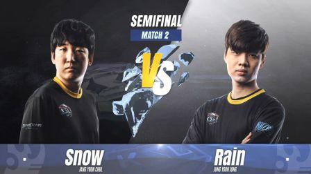 星际争霸 KSL3 半决赛 第二场 Snow vs Rain