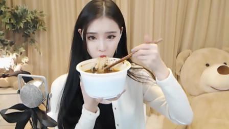 女朋友吃饭视角  来一起吃(◕ᴗ◕✿)