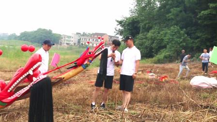 2019城子镇邓氏老屋厦新龙舟试水庆典