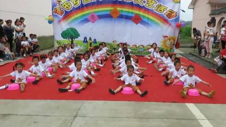 幼儿园庆六一节目 学前班《小苹果》