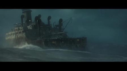 怒海救援:船装上浅滩,引擎瞬间关闭,这队友与船长太厉害了!
