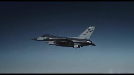 土耳其的彪悍战争神剧,战机25米低空轰炸目标,飞行员跳伞求生!