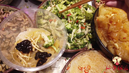 南宁最好吃的凉拌菜,一斤卖16块钱,每次去人都很多