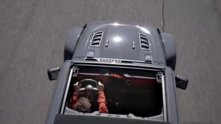 越野车也能变敞篷,Jeep牧马人仅用20秒就能实现。