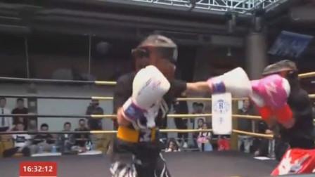 """格斗迷 刚刚!贵州8岁拳击女童""""小汤圆""""完胜对手,技惊四座!整场"""