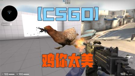 【CSGO】鸡你太美 csgo彩蛋